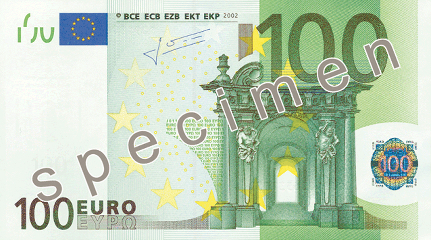 One Hundered Euro Note